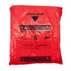 Stronghold HD White Counter Bags 10mµ