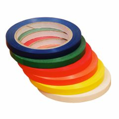 9mm x 66m Vinyl Bag Neck Tape Packed 6 Rolls