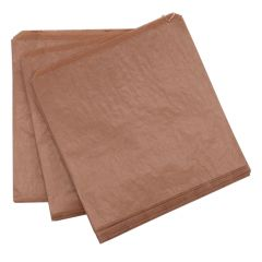 10 x 10 Dependable Brown Ribbed Strung Kraft Bag Pkd 1000