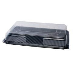 Large Plastic Platters & Lids Boxed 50