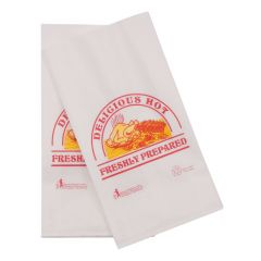 7x10x14 Poly Lined Printed Food Bag Packed 500